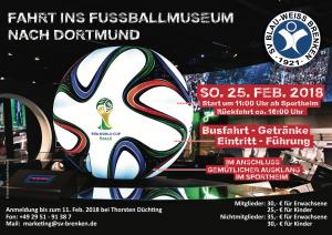 Fahrt ins Fussballmuseum nach Dortmund