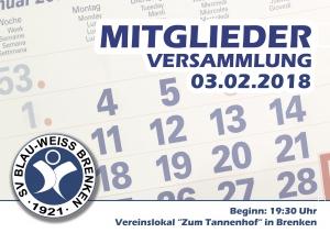 Mitgliederversammlung @ Zum Tannenhof   Büren   Nordrhein-Westfalen   Deutschland